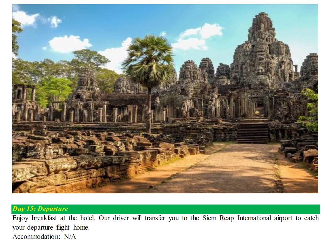 DISCOVER WORLD HERITAGE SITES OF INDOCHINA - Magazine cover
